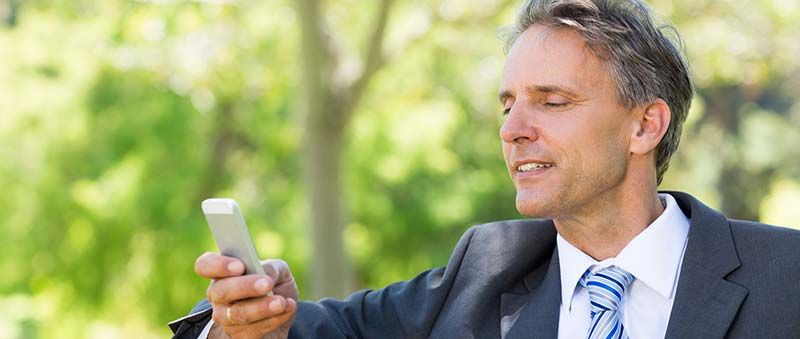 Consultation sur smartphone du système d'alarme intrusion