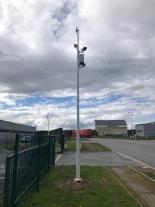 Caméra de Vidéoprotection Urbaine