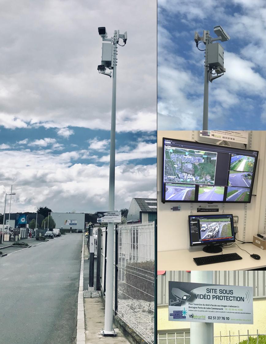 Videosurveillance urbaine en Bretagne