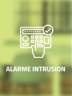 installateur d'alarme d'intrusion